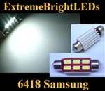 ONE Xenon HID WHITE Canbus Error Free 6418 C5W Samsung 5730 LED Light Bulb