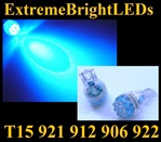 BLUE 9-LED 921 912 516 579 917 918 920 922 923 906 904 916 LED Light Bulbs