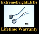 1157 2057 2357 7528 LED Halogen Bulb Signal Light Harness Socket Plug