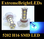BLUE 5202 H16 5201 SMD LED Fog Light Daytime Running Light bulbs
