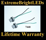 7440 LED Halogen Light Harness Socket Plug