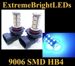 BLUE 9006 SMD LED Fog Light Daytime Running Light Bulbs