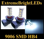 WHITE 9006 SMD LED Fog Light Daytime Running Light Bulbs
