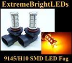Amber 9145 9140 H10 9005 SMD LED Fog Light Daytime Running Light Bulbs