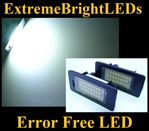 Canbus Error Free LED License Plate Lights Lamps BMW E82 E83 E70 E71 E90 E91 E92