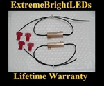 TWO 50W 6ohm Load Resistors Fix LED SMD Turn Signal Blinker Hyper Flash Error
