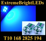BLUE 4-SMD SMT High Power bulbs