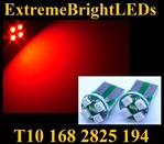 RED 4-SMD SMT High Power bulbs